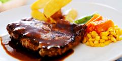 steak rib eyes